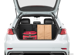 Display Trunk view of the Audi A3 e-tron