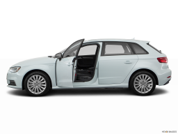 Display Side view of the Audi A3 e-tron