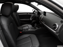 Display Interior view of the Audi A3 e-tron