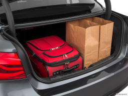 Display Trunk view of the BMW 330e