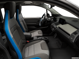 Display Interior view of the BMW i3