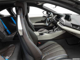 Display Interior view of the BMW i8