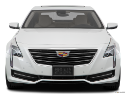 Display Front view of the Cadillac CT6
