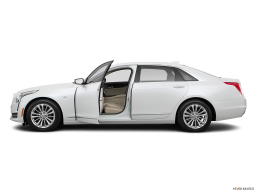 Display Side view of the Cadillac CT6