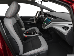 Display Interior view of the Chevrolet Bolt