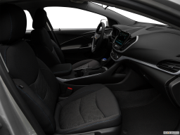 Display Interior view of the Chevrolet Volt