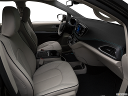 Display Interior view of the Chrysler Pacifica