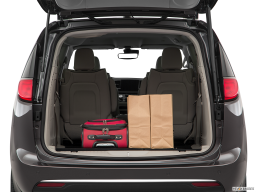 Display Trunk view of the Chrysler Pacifica