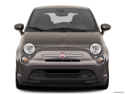 Display Front view of the Fiat 500e