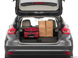 Display Trunk view of the Ford Focus Electric
