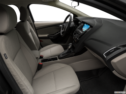 Display Interior view of the Ford Focus Electric