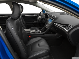 Display Interior view of the Ford Fusion Energi