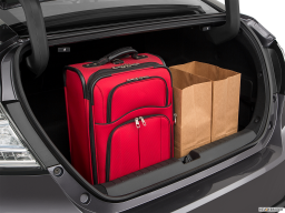 Display Trunk view of the Honda Clarity Electric