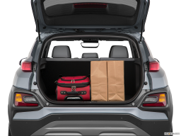Display Trunk view of the Hyundai Kona Electric