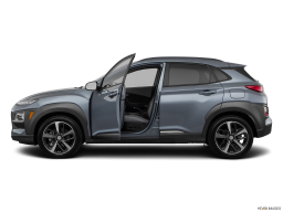 Display Side view of the Hyundai Kona Electric