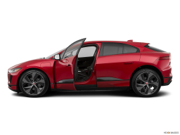 Display Side view of the Jaguar I-Pace