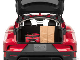 Display Trunk view of the Jaguar I-Pace