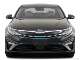 Display Front view of the Kia Optima PHEV
