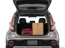 Display Trunk view of the Kia Soul EV