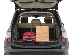 Display Trunk view of the Land Rover Range Rover PHEV