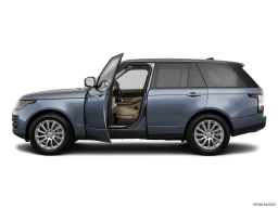 Display Side view of the Land Rover Range Rover PHEV