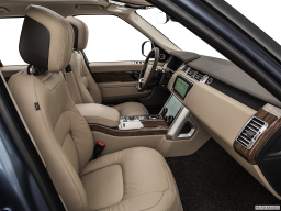 Display Interior view of the Land Rover Range Rover PHEV