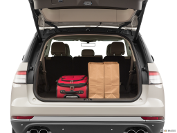 Display Trunk view of the Lincoln Aviator Grand Touring
