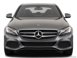 Display Front view of the Mercedes-Benz C350e