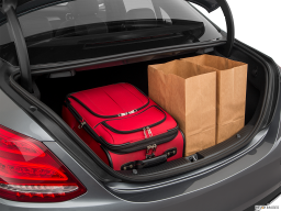 Display Trunk view of the Mercedes-Benz C350e