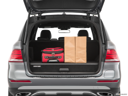 Display Trunk view of the Mercedes-Benz GLE550e