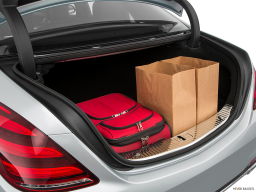 Display Trunk view of the Mercedes-Benz S560e