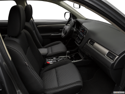 Display Interior view of the Mitsubishi Outlander PHEV
