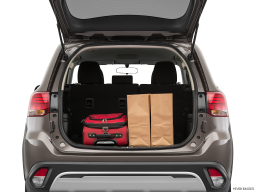 Display Trunk view of the Mitsubishi Outlander PHEV