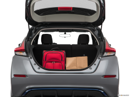 Display Trunk view of the Nissan LEAF