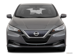 Display Front view of the Nissan LEAF