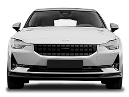 Display Front view of the Polestar 2