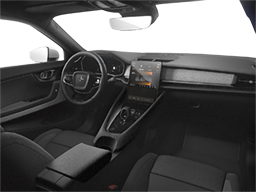 Display Interior view of the Polestar 2