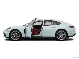 Display Side view of the Porsche Panamera Turbo S E-Hybrid