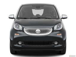 Display Front view of the Smart fortwo electric