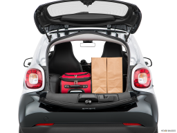 Display Trunk view of the Smart fortwo electric