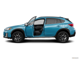Display Side view of the Subaru Crosstrek Hybrid