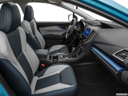 Display Interior view of the Subaru Crosstrek Hybrid