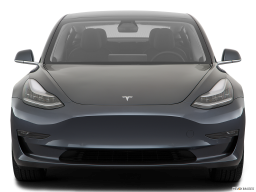 Display Front view of the Tesla Model 3