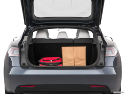 Display Trunk view of the Tesla Model S