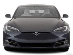 Display Front view of the Tesla Model S