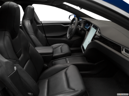 Display Interior view of the Tesla Model S
