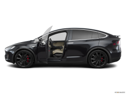 Display Side view of the Tesla Model X