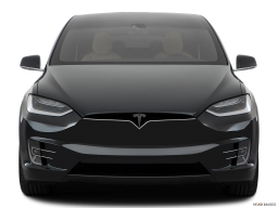Display Front view of the Tesla Model X