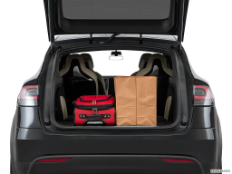 Display Trunk view of the Tesla Model X