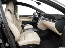 Display Interior view of the Tesla Model X